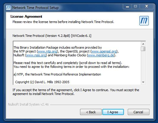 NTP Server Tool for the usage with CS PDF