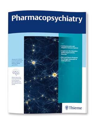 Two peer-reviewed periodicals Visit www.thieme-connect.com/products for complete online access 60% OFF for new subscribers Drug Research Editor-in-Chief: M. Wehling 2017/Volume 67/12 issues p.a./issn 2194-9379 Americas Individuals: starting at $388 (contact customerservice@thieme.