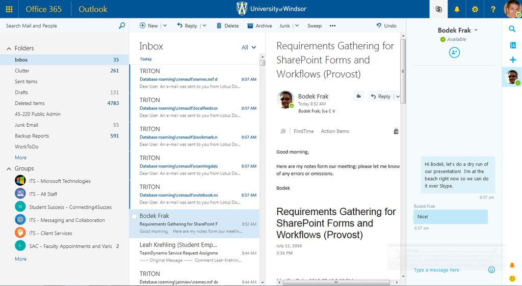 Office 365 Phase II  OneDrive for Business, 365 Groups and