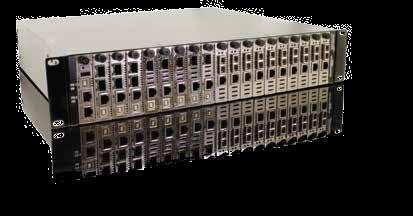 Omnitron Systems 6100 24-Port 100Mbps Ethernet Switch