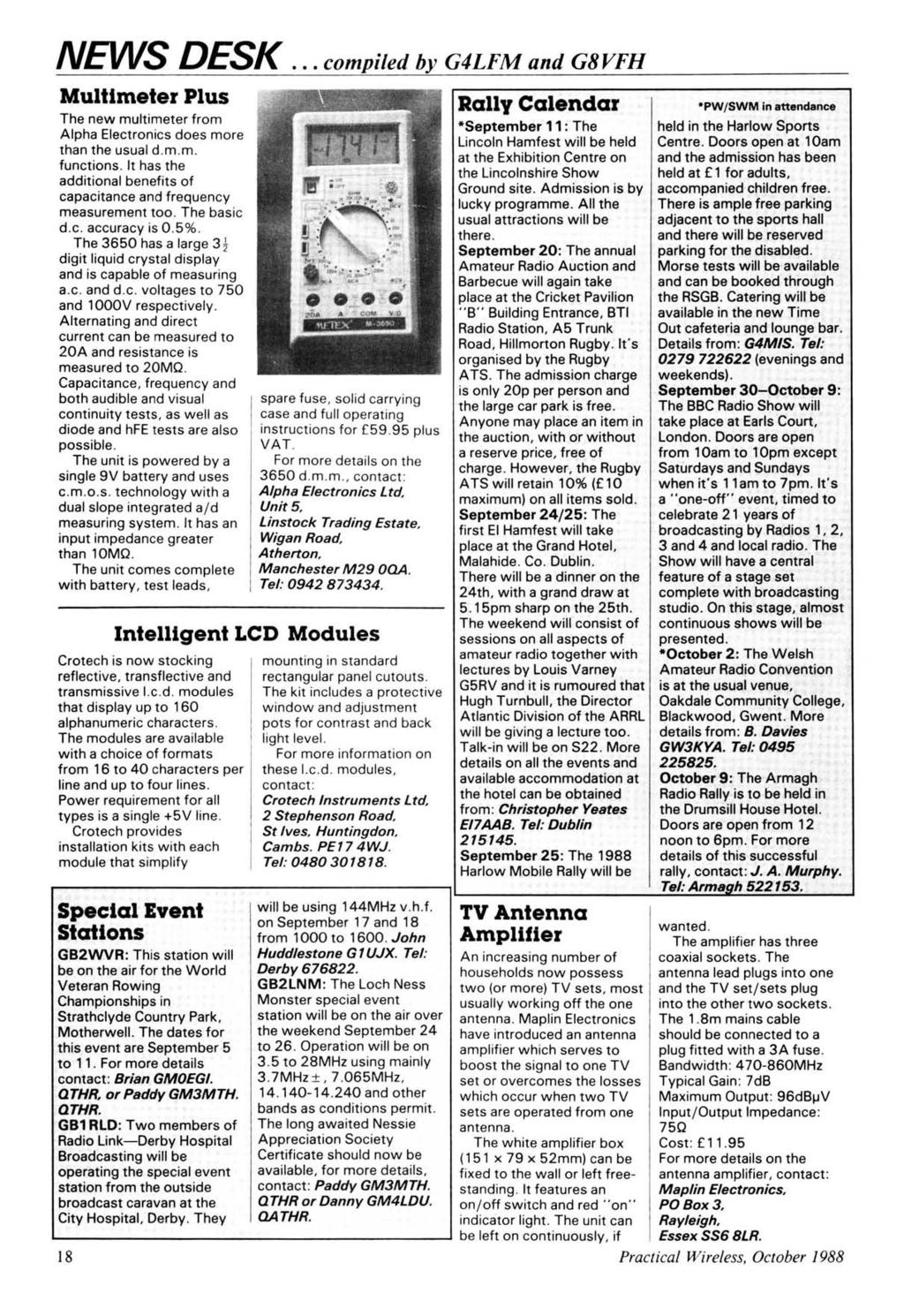 Pw Reader Questionnaire Your Chance To Tell Us What You Think Of 1991 Volkswagen Fox 18 Fuse Box Diagram News Desk Compiled By G4lfm And G8vfh Multlmeter Plus The New Multi Meter