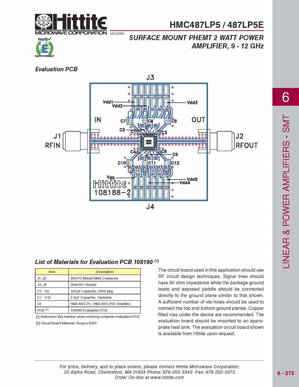 2 Watt Rf Power Amplifier For 10 Ghz Pdf Schematic Using Laser Diode And Lm386 Low Voltage Audio 71