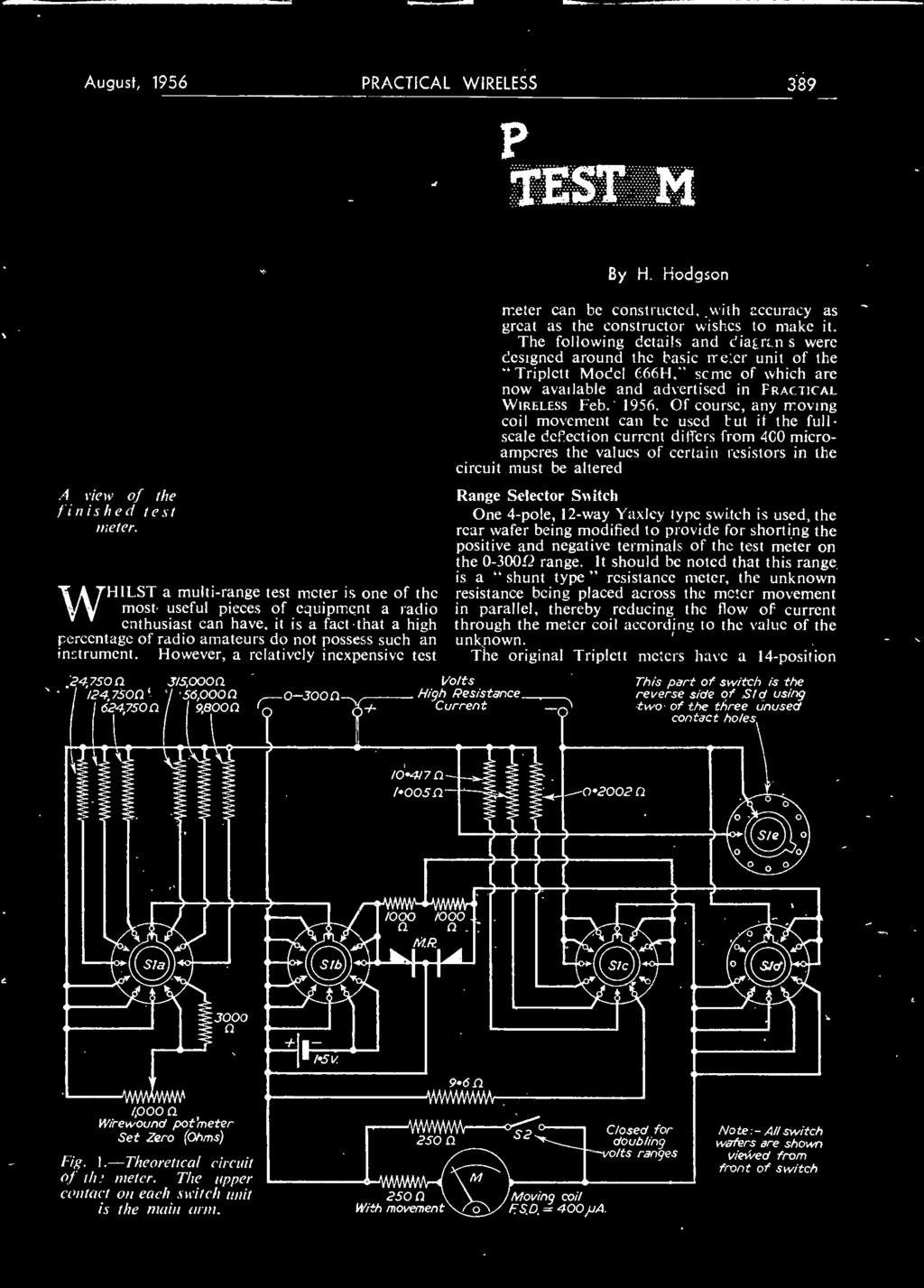 A Transistor Diode Portable Pdf Ignition Circuit Diagram For The 1951 54 Packard All Models However Relatively Inexpensive Test 247500 3150000 124