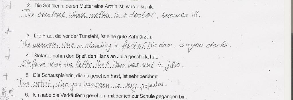 Acquisition of English Relative Clauses by German L1 and. Turkish L1 ...