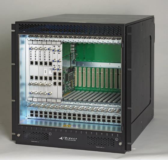 iDirect Hubs and Line Cards