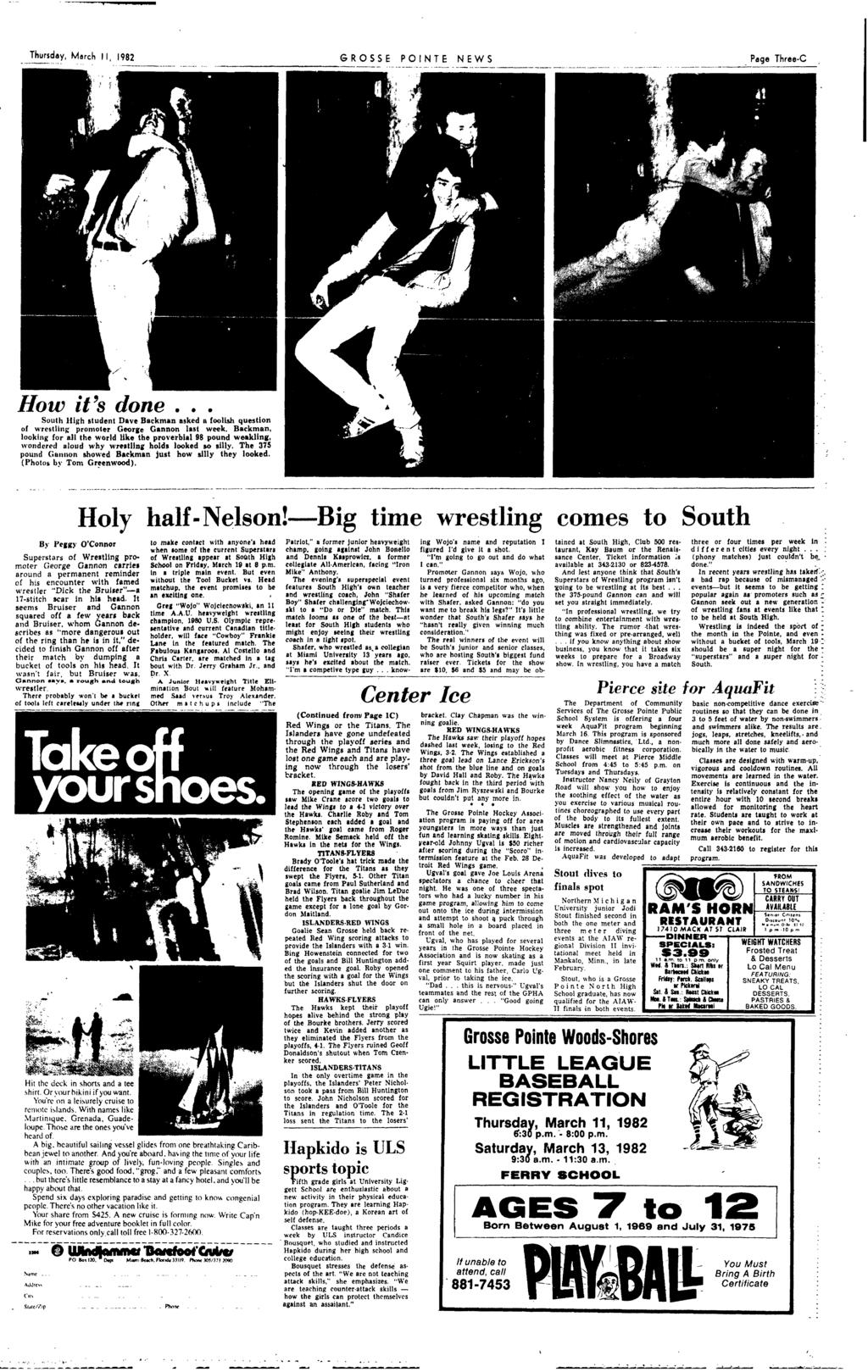 Rosse pointe farms county stand off shakes thursday mlrch 1982 grosse ponte news page threec how its done south high tudent fandeluxe Image collections
