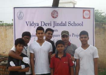 The Regional Round Square Service Project 2013 was hosted by Vidya Devi Jindal School, Hisar in August 12-18 Service which is rendered without joy helps neither the servant nor the served.
