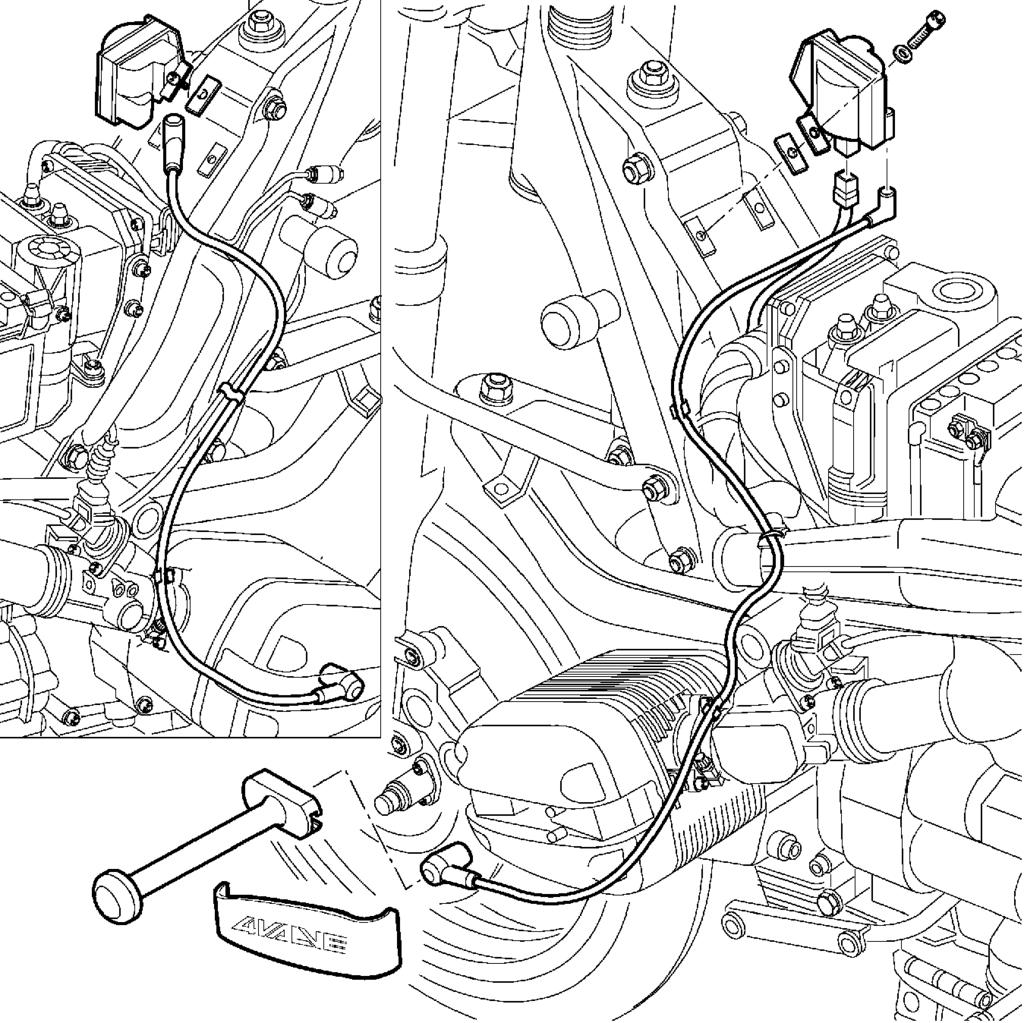 Repair Manual R 1100 Rt Rs 850 Gs Bmw Electrical Circuit Diagrams 3 1 2 5 12 520 Rs120010 4 Removing And Installing Coil