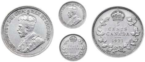 65//67//68Unc 1940 to 1968 Canada 10 Ct Silver Coin ur choice of 1 from list