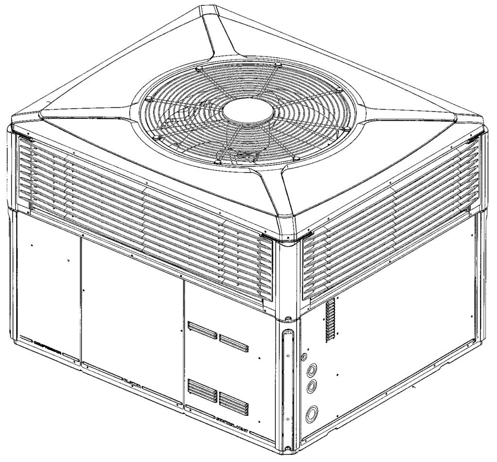 Packaged Cooling 4TCX3 (3-Phase Only) 4TCC3 (3-Phase Only) Packaged Cooling Convertible 2-5 Tons Table PK-4-A 4TCX3 - Gold 13 - Convertible Packaged Cooling - R-410A Cooling Uncrated Model Capacity