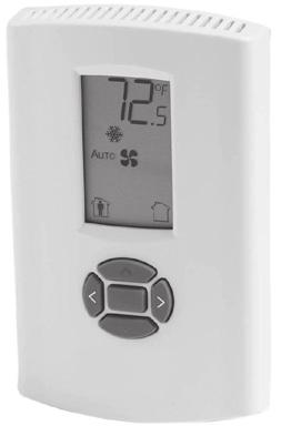Non-Programmable Zone Sensor with PHASED OUT a digital display ASYSTAT709A - Cool/Gas ASYSTAT707A - Heat Pumps Zone Sensors must be used with Micro Control units.