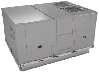 Foundation Packaged Gas/Electric 15-25 Tons, R-410A Scroll compressors on all units Operating charge of R-410A Low ambient operation to 40 F as standard Color coded and numbered wiring Single side