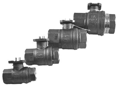 FortrezZ Water Valves Indoor Water Valves Outdoor Water Valves Nexia Compatible Products Indoor Water Valves Motorized ball valve for standard pipe sizes SKU: 661799486040-1/2 SKU: