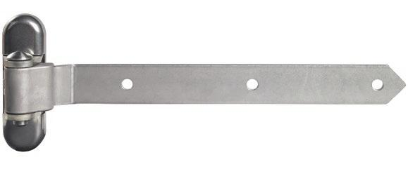 hinge.  direction. lso available with hot-dip galvanised arm (2, 3 of 0 mm).