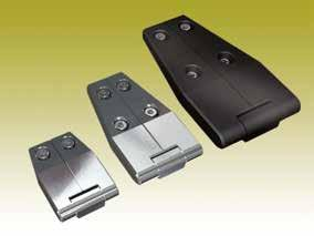 Certified according to ISO 9001:2008 Copyright 2017, 2014, Industrilås i Nässjö AB HINGES 180 Opening angle Universal LH / RH Y X Adjustable 3 mm ADJUSTABLE HINGE FOR INSULATED DOORS - SYSTEM