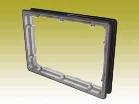 Certified according to ISO 9001:2008 MISCELLANEOUS 342 316 216 11 (x2) X A 242 SQUARE INSPECTION WINDOW Square inspection window in transparent polycarbonate.