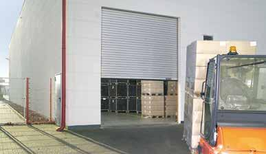 Steel Rolling Shutter DRU Innovative technology for heavy-duty applications Galvanized steel with transparent protective paint