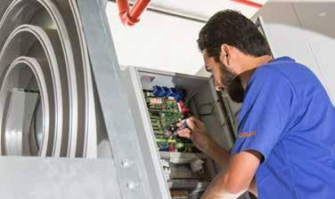 Service Inspection, maintenance and repair with manufacturer s expertise The after sales and service team,