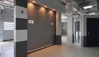 Showroom Showcase of innovative solutions for residential and industrial projects The showroom displays the company s latest products and refurbishment solutions and also features an in house
