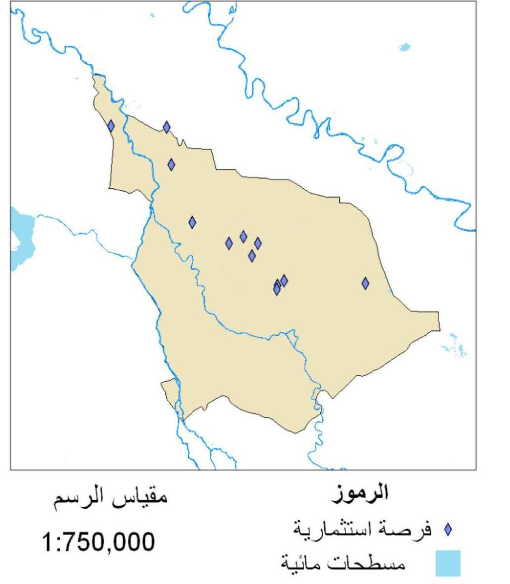 176 Iraq Investment Map 2016 lands offered for Agricultural