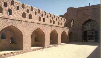 Historians assign its building to the Caliph Al-Nasir Li Deen Illah (575-623 A. H./ 1179-1225 A. D.). 3.