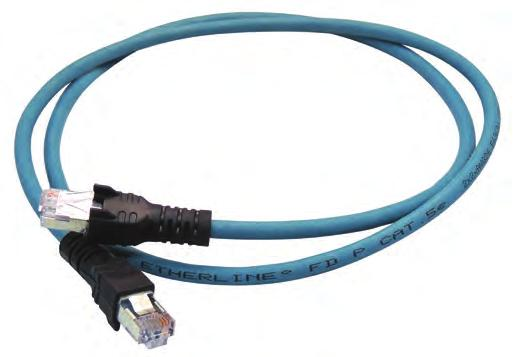 Industrial Ethernet Cordsets Quick Service With An