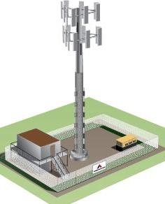 Sample Macro Tower Leasing Scenario One Tenant Two Tenants Three Tenants Adding tenants, equipment and