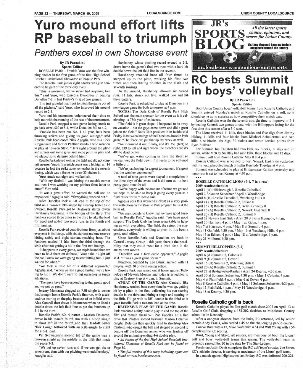 Cuts By Joseph M Dalise Pdf Xl Data Hodrod Rp 50000 Page 32 Thursday March 19 2009 Localsourcecom Union County Localsource Yuro Mound