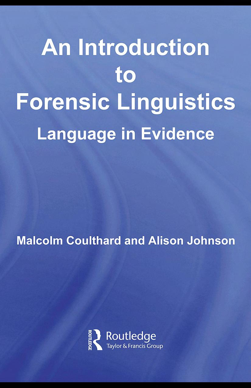 An Introduction To Forensic Linguistics Pdf Ups Uninterpreted Power Supply Buying Guide For Pakistan Transcription