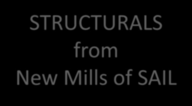 Products in SAIL for Pre fabricated Structures - PDF