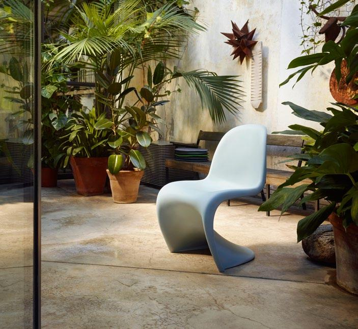 3 2 21 Panton Chair In The Late 1990s, Verner Panton And Vitra Reworked The