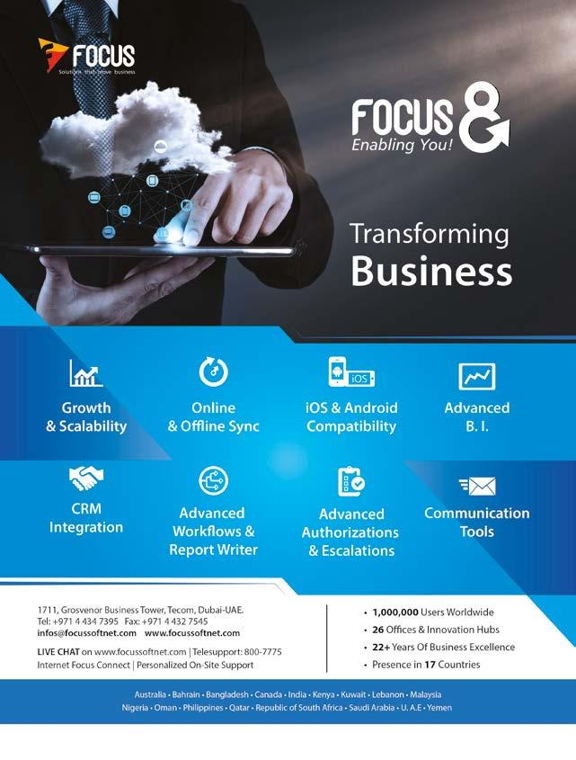 DEPLOYS FOCUS 8 FOR SCALABILITY AND GROWTH MIR HASHEM KHOORY