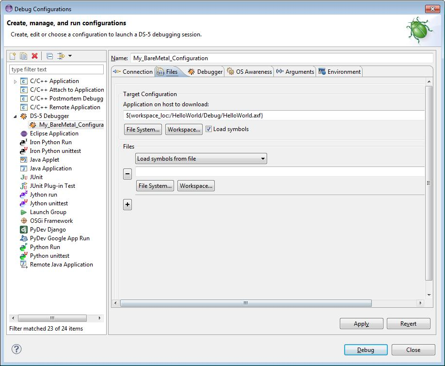 ARM DS-5  Debugger User Guide  Version Copyright ARM  All rights