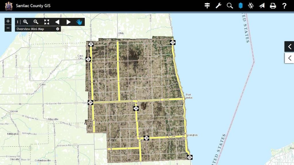 SANILAC COUNTY PARCELS/GIS USER GUIDE - PDF on erie county plat map, jackson county plat map, fulton county plat map, huron county plat map, okfuskee county plat map, saginaw county plat map, yellow medicine county plat map, kalkaska county plat map, lenawee county plat map, grant county plat map, cambria county plat map, somerset county plat map, union county plat map, gaines county plat map, lake county plat map, grand traverse county plat map, camden county plat map, ida county plat map, st clair county plat map, clayton county plat map,
