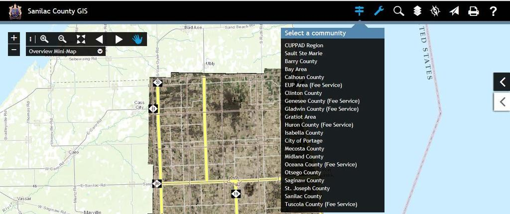 SANILAC COUNTY PARCELS/GIS USER GUIDE - PDF