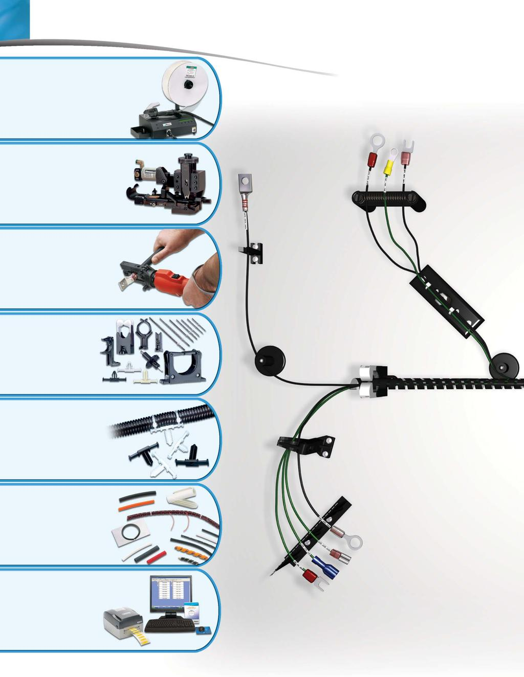 Innovative Wire Management Systems For Harness Fabrication Aerospace Ties Roadmap 1 Cable Pages 6 9 2 Terminals 10 12 3