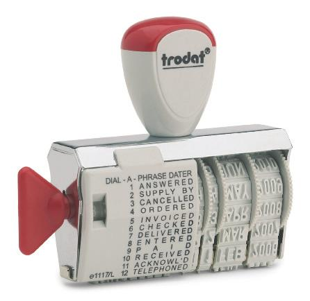FAXED AIR MAIL ETC COPY TRODAT 4822 MULTI WORD RUBBER STAMP FIRST CLASS