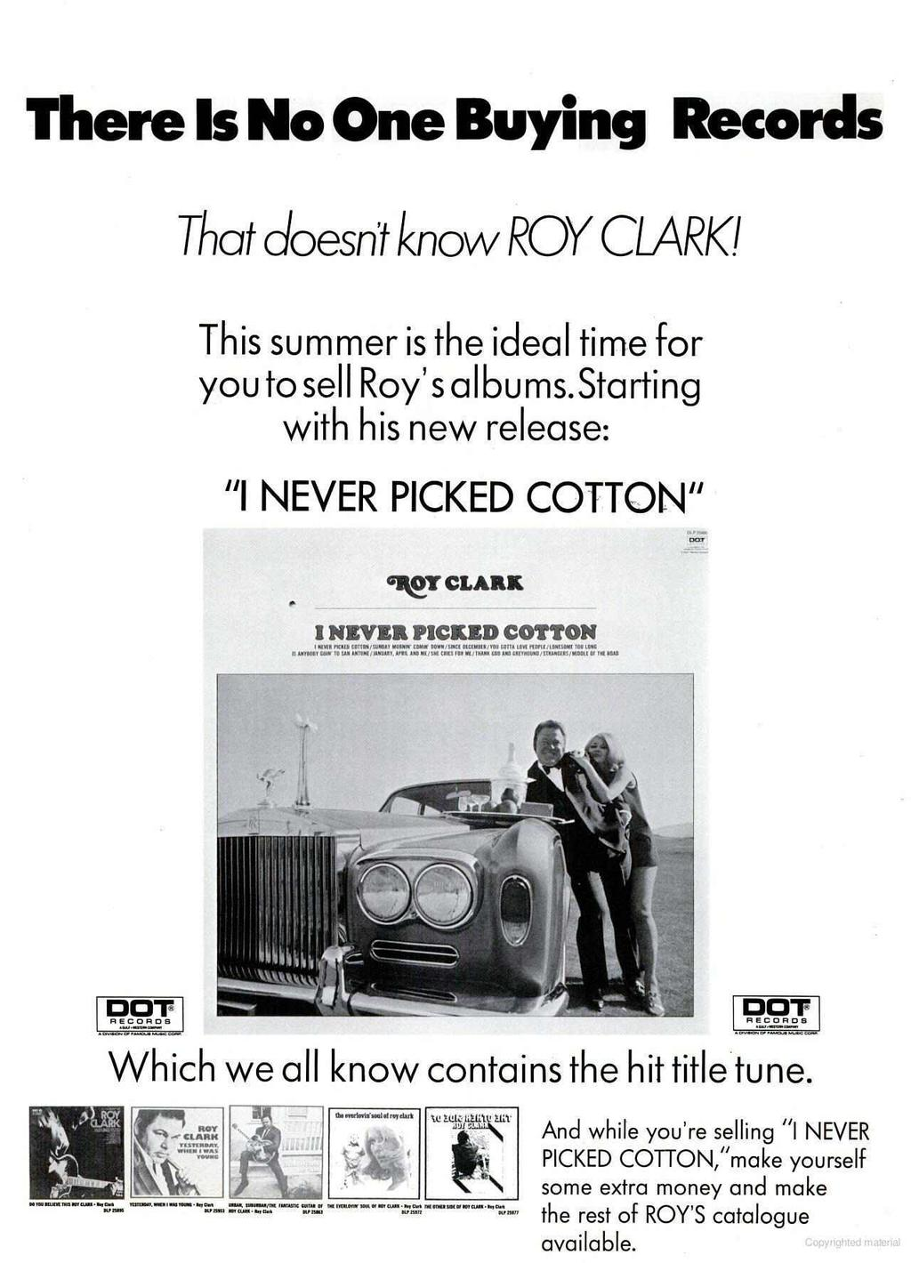 Col W B Co T Op Billboard Pdf Volvo Pv444 Wiring Diagram Vintage Car Electrical There Is No One Buying Records That Doesnt Know Roy Clark This Summer