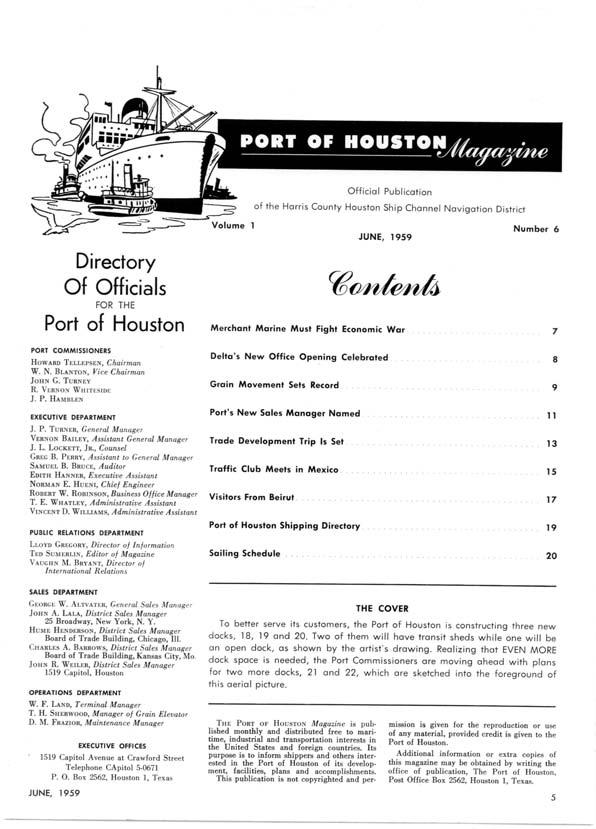 THE TURNING BASIN OF THE PORT OF HOUSTON--The ship in the