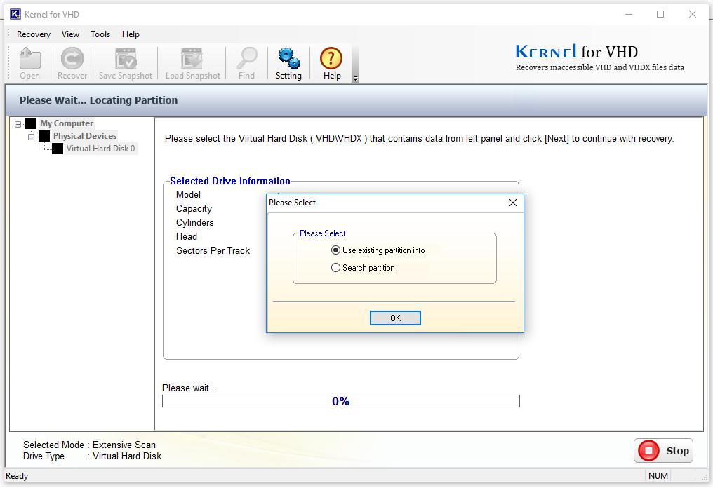 Kernel for VHD  Recovers Lost Data from Corrupt VHD & VHDX