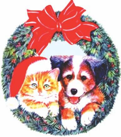 You may drop off your items Saturday November 2nd at our Christmas open house until December