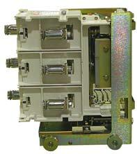 Description Load compartment Vacuum contactor DE57732 The vacuum contactor is used: as a Main contactor