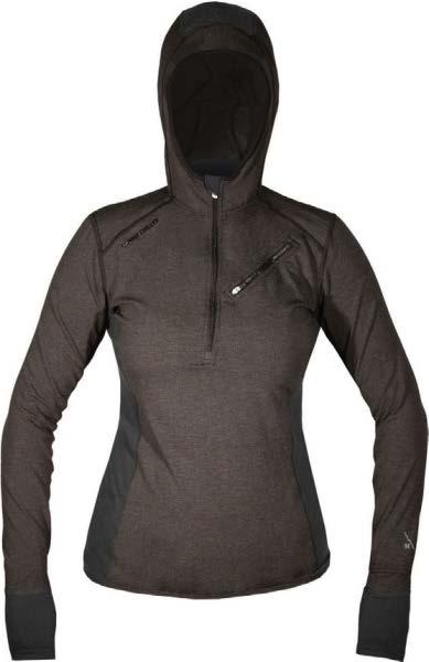 84650fc02 Ibex Woolies 3 Hoody, a synthetic blend Hot Chilly Women s Merino Zip Hot  Chillys