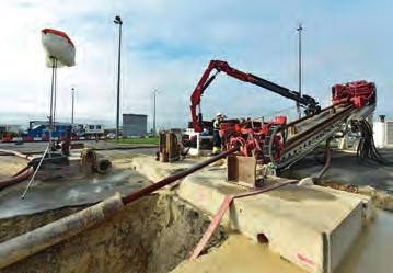 HORIZONTAL DIRECTIONAL DRILLING  Trenchless installation of