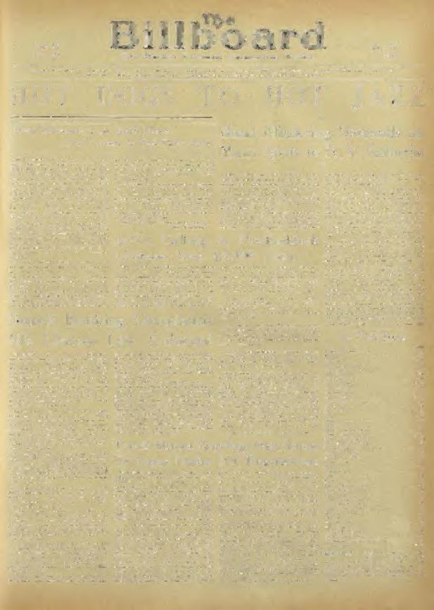 Vol 52 No 21 My 25, 1910 Worlil s Foremost Aruuscmcnt Tl eekly WMSdy «