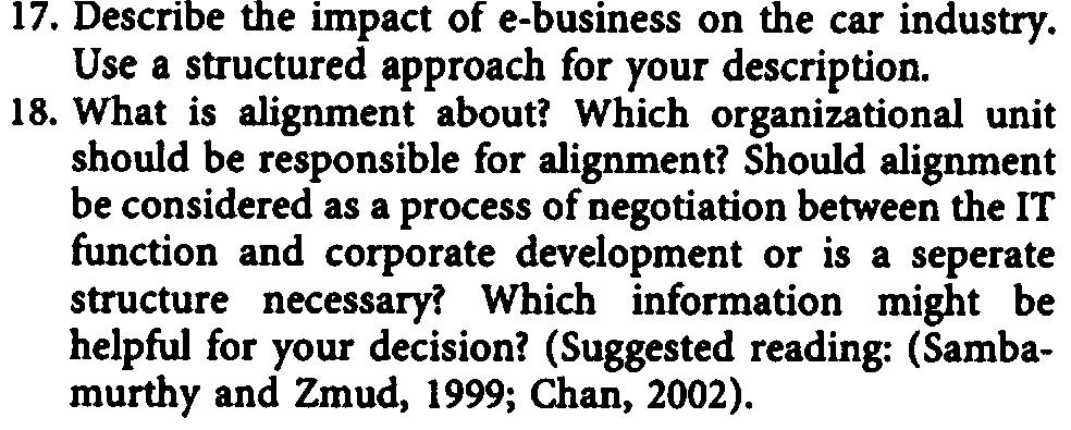 Discuss advantages and drawbacks. 15. Briefly describe the roje models of change agents from Markwand Benjamin (1996). Which fits best to the approach of DaimlerChrysler? 16.