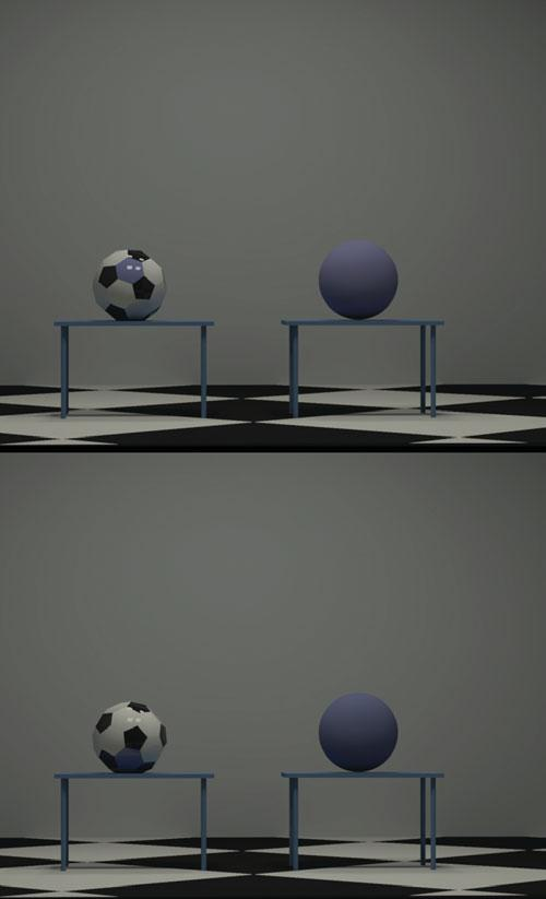 Color appearance of 3D objects 379 Table 3. Test object material parameters for Experiment 2.