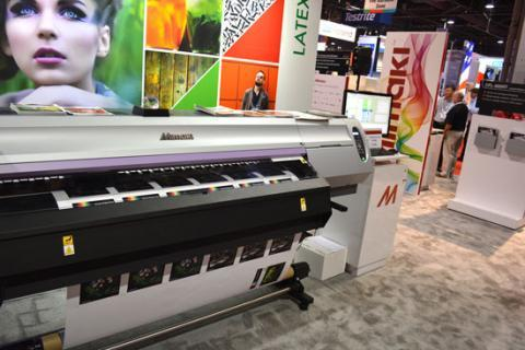 Mimaki USA Inc with the JV400SUV-160 The JV400 SUV series sets new industry standards by combining the flexibility of solvent printing with the durability of UV cured inks, resulting in smooth,