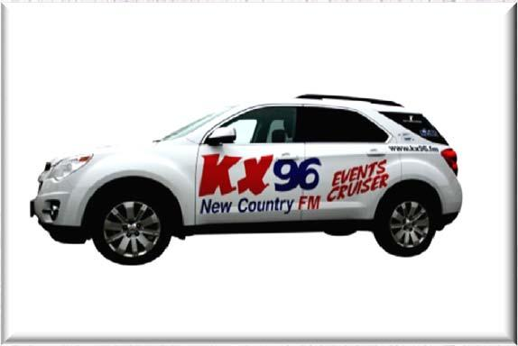 KX96 continues to be the Number One Station in Oshawa, Whitby, Clarington, Brock & Scugog! (Share, All persons 12+) KX96 broadcasts from a tower in Whitby at 95.