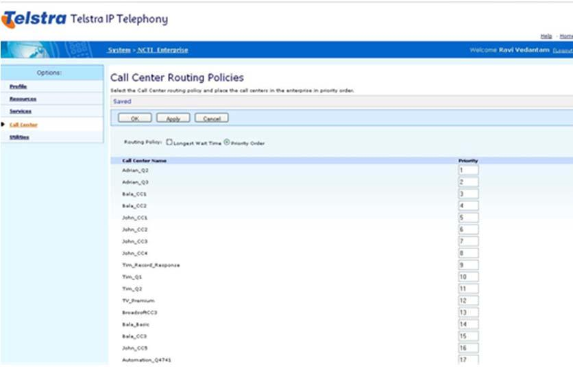 Telstra IP Telephony Premium Call Centre Customer